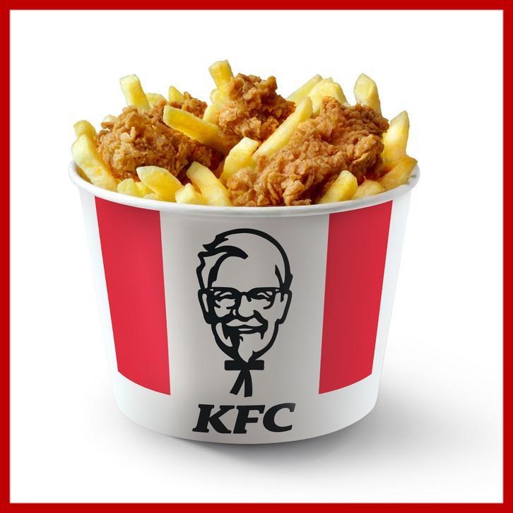 Мой Баскет KFC со стрипсами