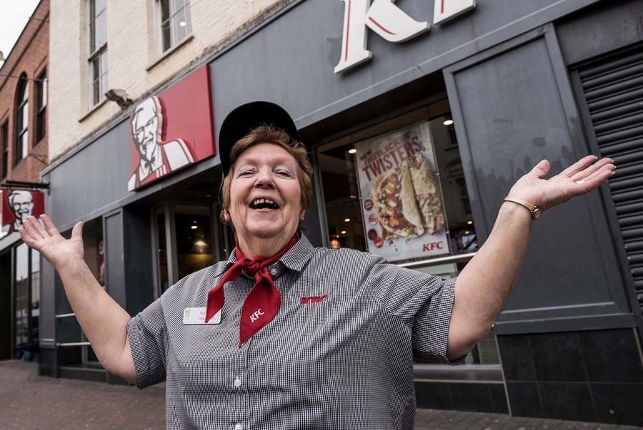 Работа в KFC для людей любого возраста
